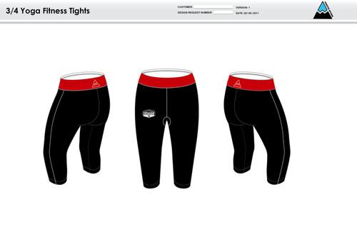 Bingham Women's 3/4 Fitness Tights
