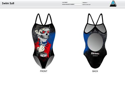 Bingham Women's One Piece Swimsuit