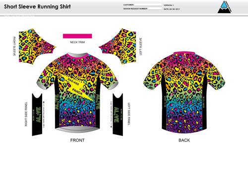 Al;ve Short Sleeve Running Shirt