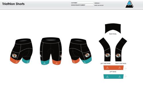 Team CJ Men's Tri Shorts