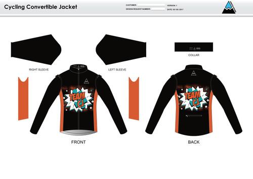 Team CJ Convertible Jacket