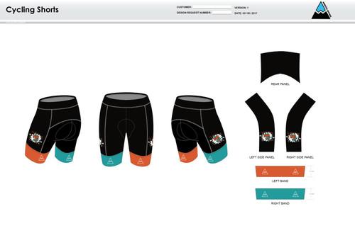 Team CJ Cycling Shorts