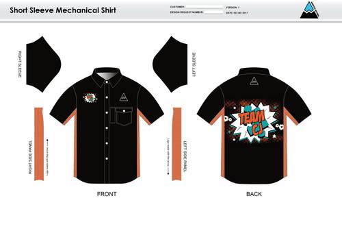 Team CJ Adult Mechanic Shirt - UNISEX Sizing