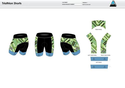 ODM Men's Tri Shorts