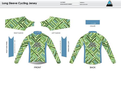 ODM Long Sleeve Cycling Jersey