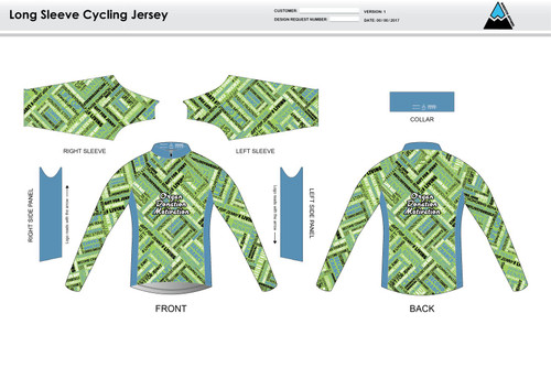 ODM Long Sleeve Thermal Cycling Jersey
