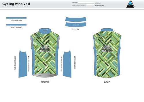ODM Cycling Wind Vest