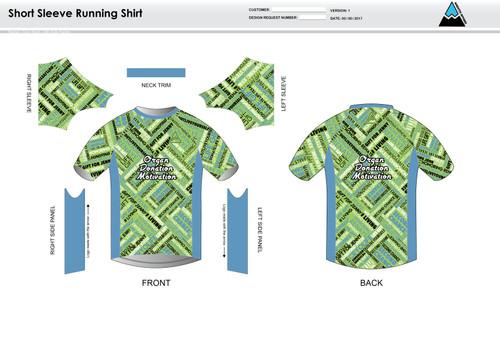 ODM Short Sleeve Running Shirt