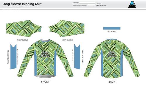 ODM Long Sleeve Running Shirt