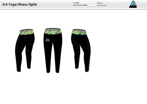 ODM Women's Full Length Fitness Tights
