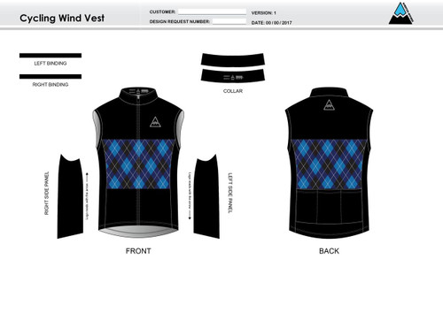 Palisade Cycling Wind Vest