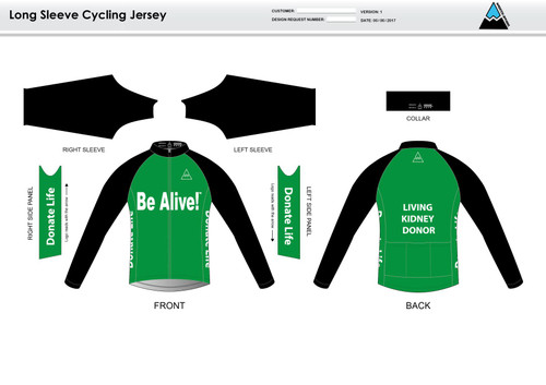 Be Alive Long Sleeve Cycling Jersey