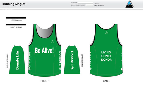 Be Alive Running Tank