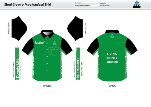 Be Alive Adult Mechanic Shirt - UNISEX Sizing