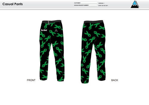 Be Alive Warm Up Pants