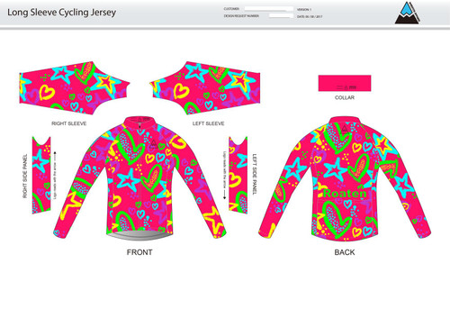 Roaten Long Sleeve Thermal Cycling Jersey