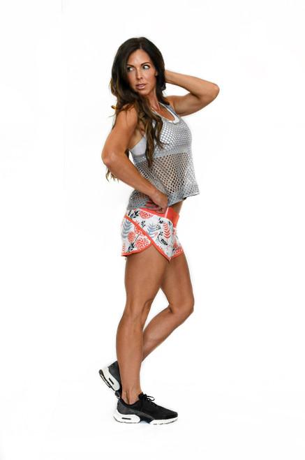 Coral Cutie Women's Zoom Running Shorts