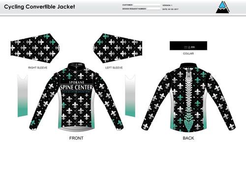Fluer De Lis Convertible Jacket