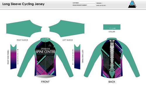 Prism Long Sleeve Cycling Jersey