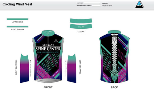 Prism Cycling Wind Vest