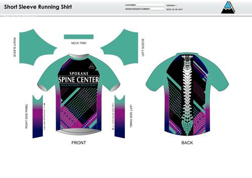Prism Short Sleeve Running Shirt