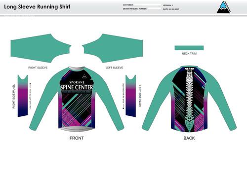 Prism Long Sleeve Running Shirt