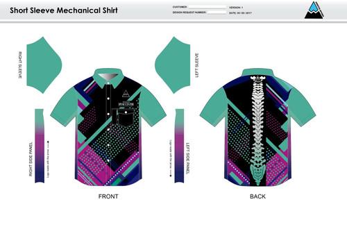 Prism Adult Mechanic Shirt - UNISEX Sizing