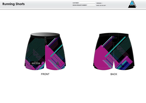 Prism Running Shorts