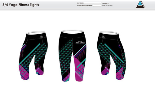 Prism Women's 3/4 Fitness Tights