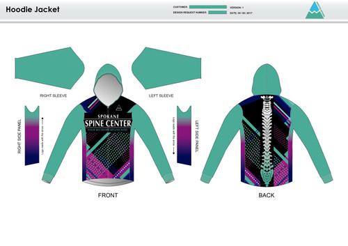 Prism Hoodie Jacket