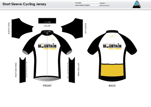 Mountain Supply Short Sleeve Cycling Jersey