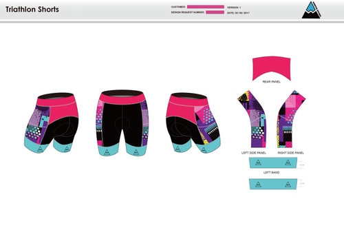 Sally Men's Tri Shorts