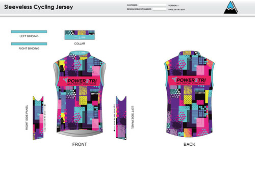 Sally Sleeveless Cycling Jersey