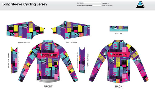Sally Long Sleeve Thermal Cycling Jersey