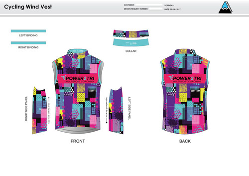 Sally Cycling Wind Vest