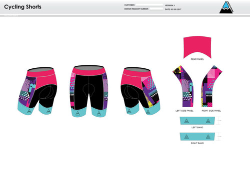Sally Cycling Shorts