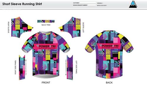 Sally Short Sleeve Running Shirt