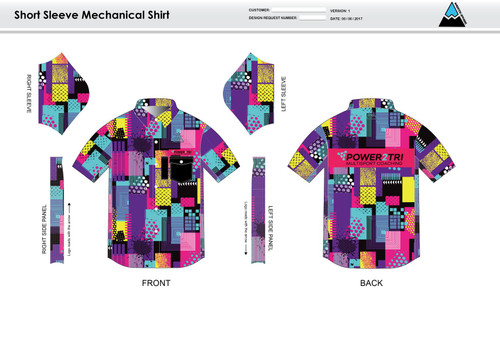 Sally Adult Mechanic Shirt - UNISEX SIZING