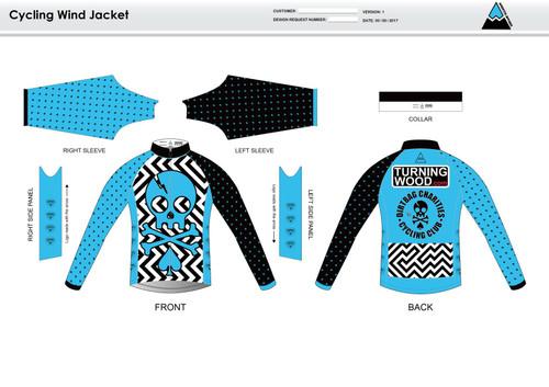 Dirtbag Blue Wind Jacket