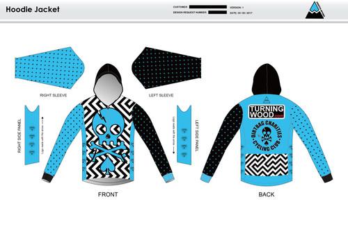 Dirtbag Blue Hoodie Jacket