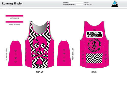Dirtbag Pink Running Tank