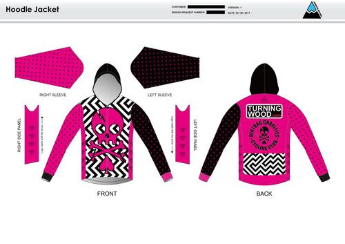 Dirtbag Pink Hoodie Jacket