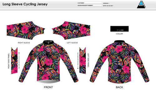 Natalie Long Sleeve Thermal Cycling Jersey
