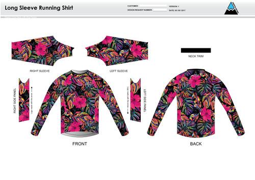 Natalie Long Sleeve Running Shirt