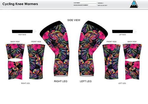 Natalie Cycling Knee Sleeves