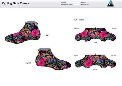 Natalie Cycling Shoe Covers