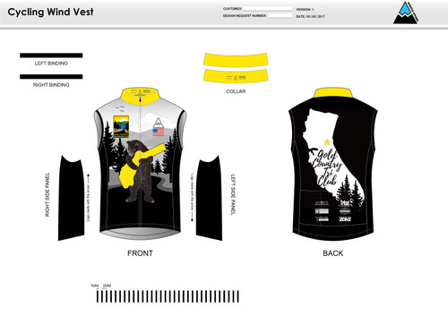 GC Anniversary Cycling Wind Vest
