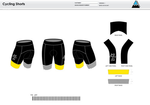 GC Anniversary Cycling Shorts