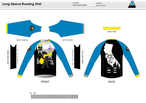 GC Anniversary Long Sleeve Running Shirt
