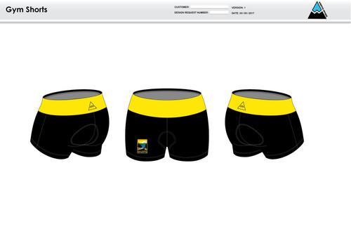 GC Anniversary Women's Compression Fitness Shorts